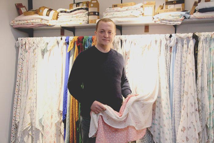 Müslin kumaşı Türkiye'ye tanıtan Beberotti ihracatla büyüyecek
