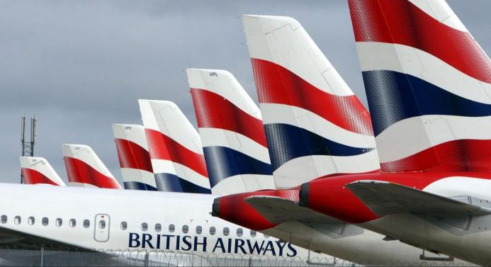 British Airways, Çin uçuşlarını durdurdu
