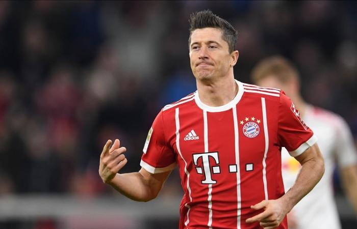 Avrupa'nın en iyisi Lewandowski