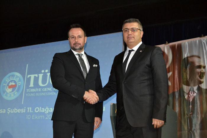 TÜGİAD'da 17. döneme Bursalı başkan