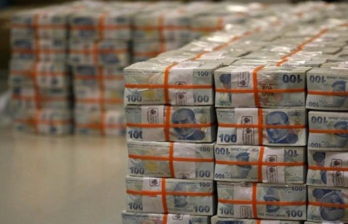 Brüt borç stoku 1.8 trilyon lira