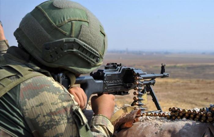 Barış Pınarı bölgesinde teröristler etkisiz hale getirildi
