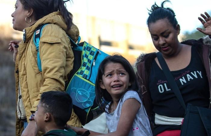 545 göçmen çocuğun ebeveynlerine ulaşılamıyor