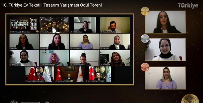 10. Türkiye Ev Tekstili Tasarım Yarışması sonuçlandı