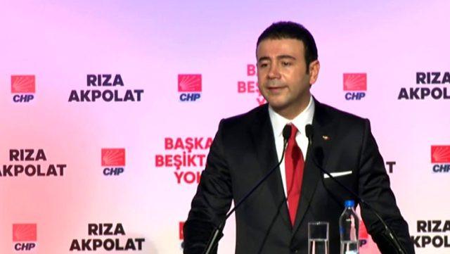 Beşiktaş Belediye Başkanı Rıza Akpolat'a COVID-19 teşhisi konuldu