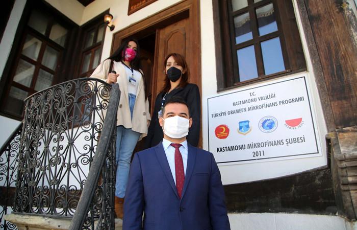 Mikrokredi Merkezi, Kastamonu'da 1224 kadın girişimciye destek verdi