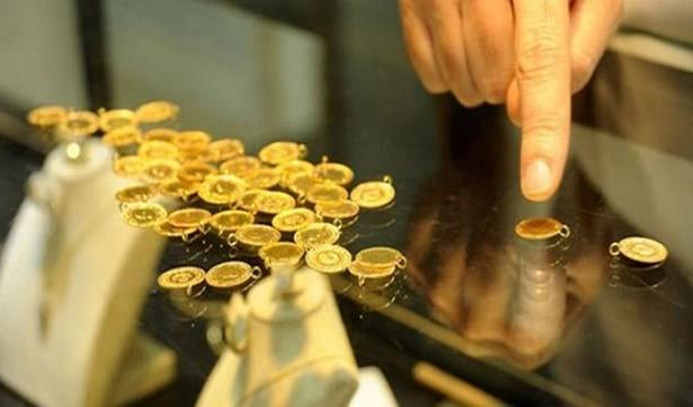 Gram altın 492,5 lira oldu