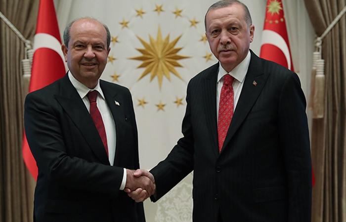 Cumhurbaşkanı Erdoğan: Türk tarafı Kıbrıs'ta adil çözümden yana