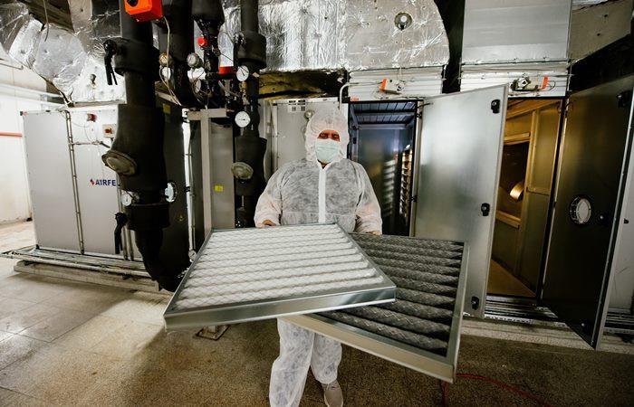 Akasya ve Akbatı'da COVID-19'a karşı NASA teknolojisi