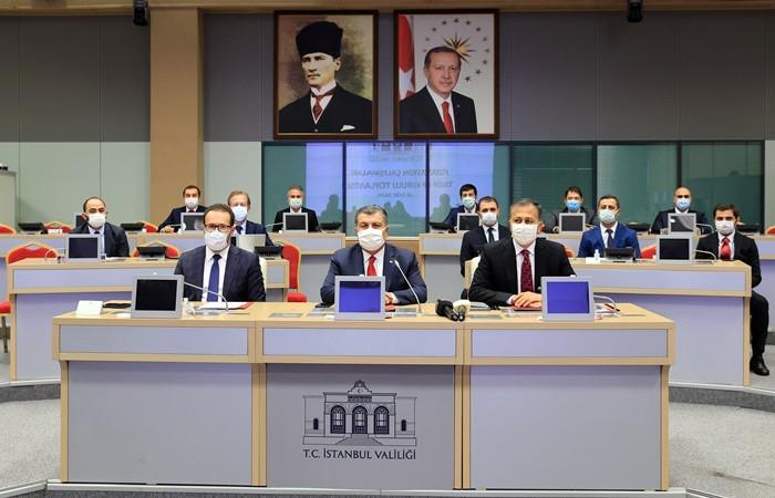 İstanbul İl Filyasyon Çalışmaları Takip Kurulu toplandı