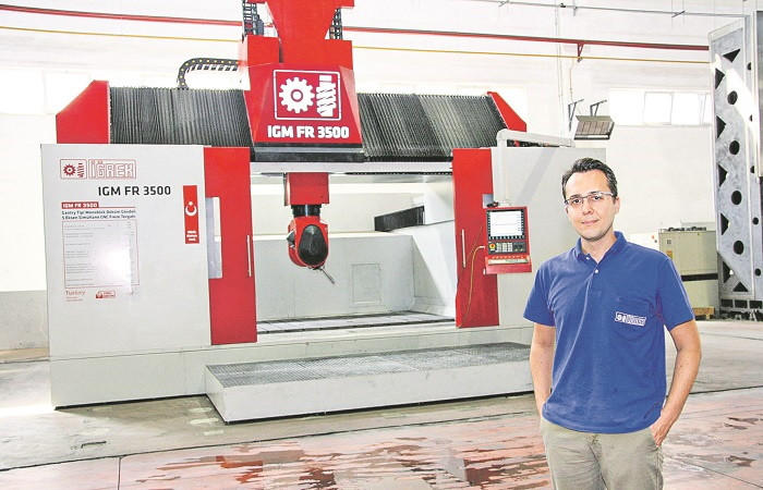 CNC'nin 75 yıllık devi takım tezgahında yüksek teknolojili tesis kuruyor