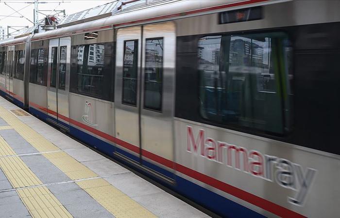 Marmaray'dan 7 yılda 500 milyondan fazla yolcu taşındı