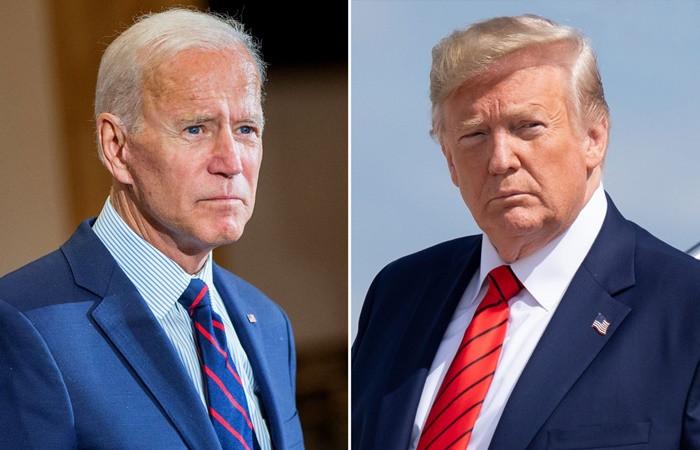 Anketler Biden'i işaret ederken, seçimde son kampanya günü