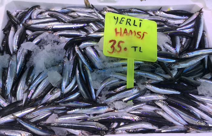Giresun'da hamsinin kilosu 35 liradan satılıyor
