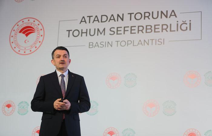 Bakan Pakdemirli: Türkiye tohumda ithalatçı değil ihracatçı