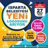 Isparta Belediyesi logo yarışması açtı