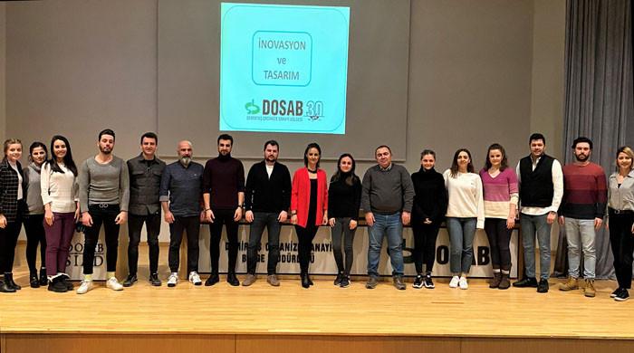 DOSAB'da İnovasyon Yönetimi Eğitimi