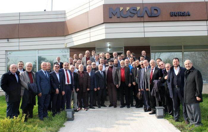MÜSİAD başkanları Bursa'da buluştu