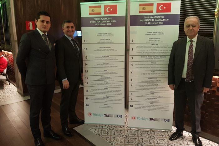 Türk otomotivcileri İspanya pazarını inceledi
