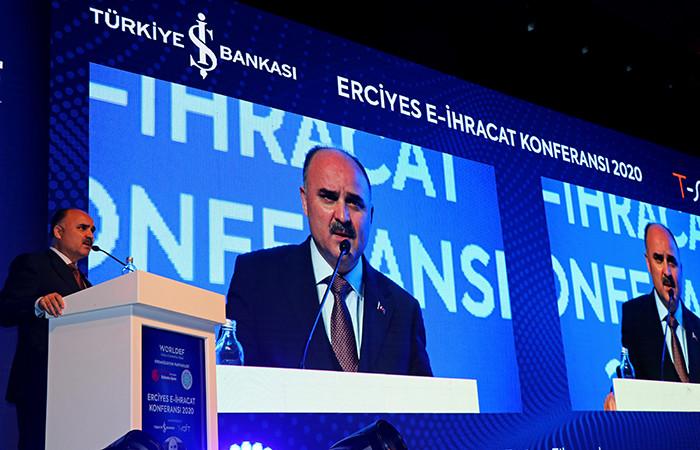 Erciyes E-İhracat Konferansı başladı