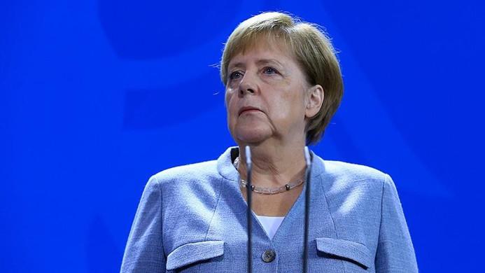 Angela Merkel'in test sonucu belli oldu