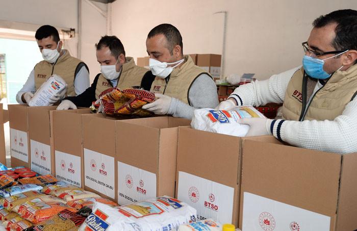 BTSO Vefa Projesi ile 10 bin aileye ulaştı