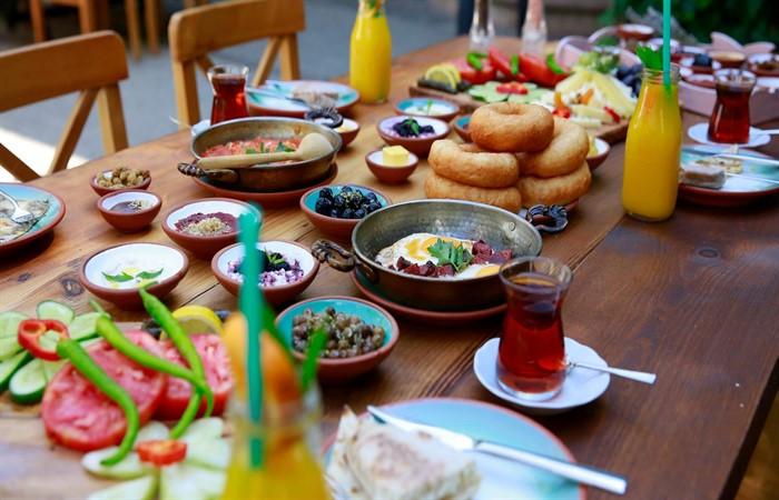 Nesli tükenmeyen kahvaltılık gıdalar festivali