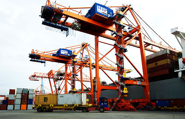 Mersin Limanı'ndan transit ticarete destek