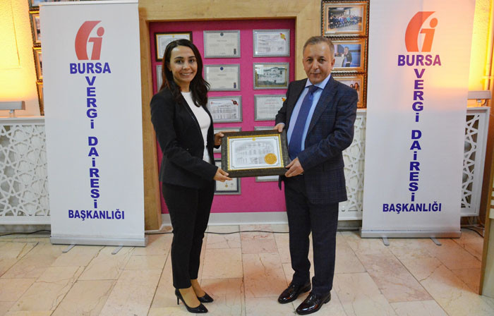 """Türk Prysmian Kablo'ya """"Bursa Kurumlar Vergisi"""" ödülü"""