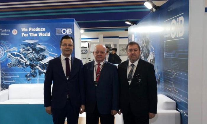 OİB ile 29 Türk firması Automec Brezilya Fuarı'na katıldı
