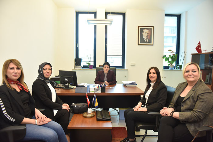 Bursalı kadın girişimciler Saraybosna'ya damga vurdu