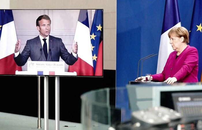 Fransa ve Almanya'dan 500 milyar euroluk fon önerisi