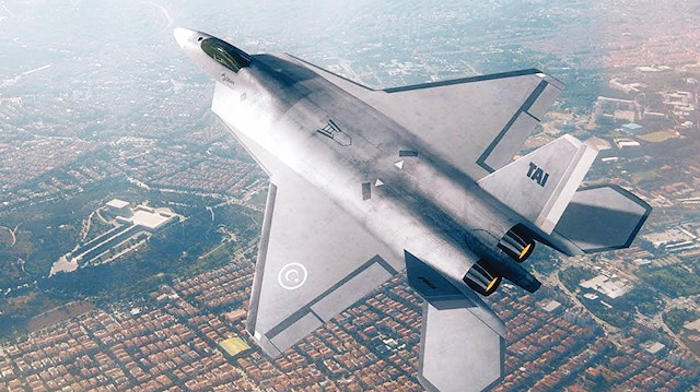 Milli Savaş Uçağı ilk kez Paris'te ortaya çıkacak