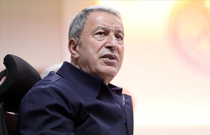 Bakan Akar, TSK'daki pozitif vaka sayısını açıkladı