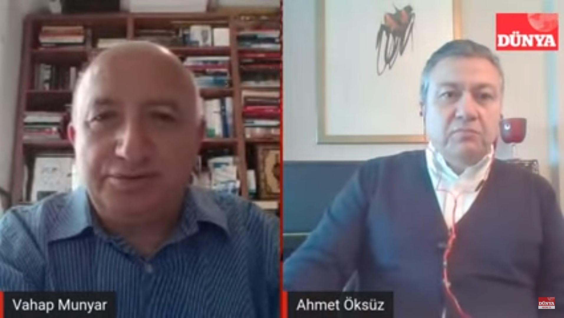 İTHİB Başkanı Ahmet Öksüz tekstilde 'yeni normal'i anlattı