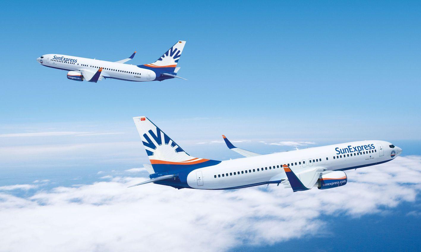 SunExpress yarın uçuşlara başlıyor
