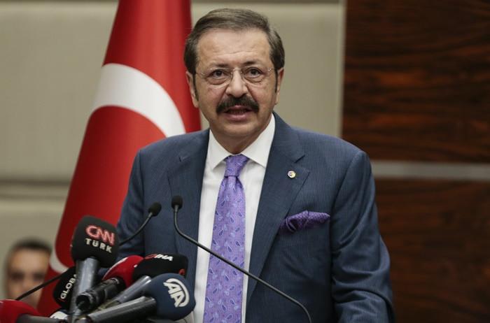 TOBB Başkanı Hisarcıklıoğlu'ndan 'E-ticaret platformları için vergi düşürülsün' çağrısı