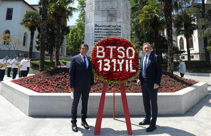 Bursa iş dünyasının çatı kuruluşu BTSO 131 yaşında