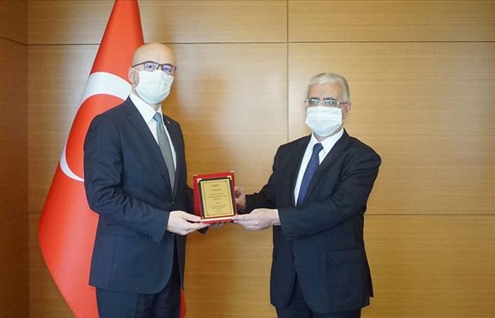 SDDK Başkanı Türker Gürsoy görevi devraldı