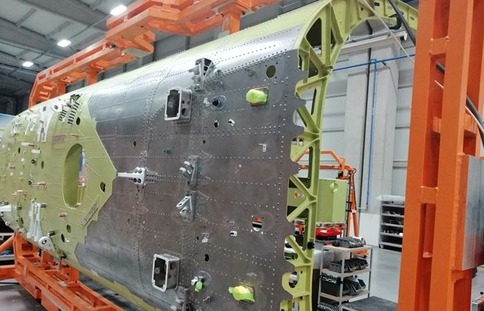 Eskişehir'de üretilen helikopter gövdeleri Güney Kore'ye gönderiliyor