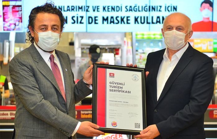 TAB Gıda, ilk 'Güvenli Turizm' sertifikası aldı