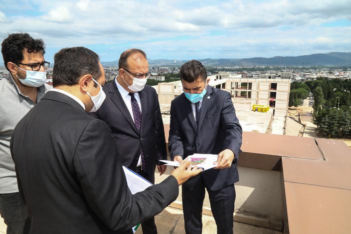 Bursa Valisi Canbolat BTÜ'yü ziyaret etti