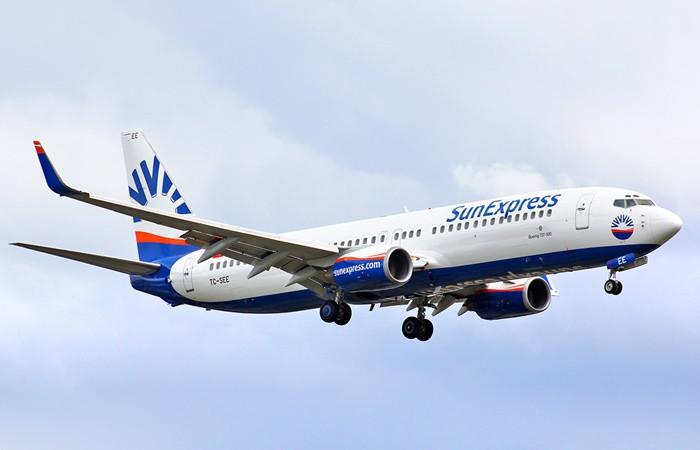 SunExpress, turistik uçuşlarda kapasite artışına gidiyor