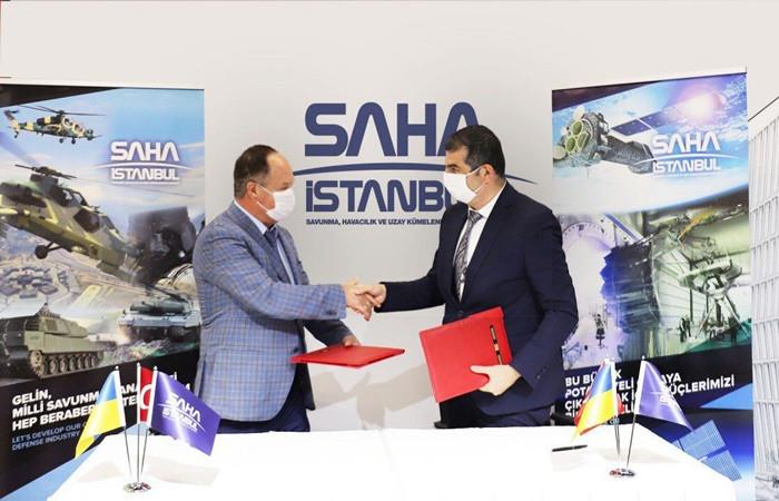 SAHA İstanbul,  UKRAVİAPROM  ile işbirliği anlaşması imzaladı