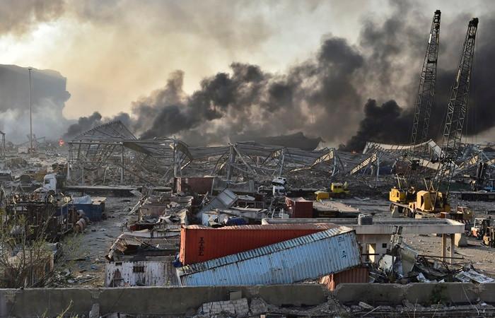 Beyrut Limanı Lübnan ekonomisinin can damarı sayılıyordu