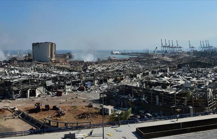 Beyrut'taki patlamadan iki yüzer elektrik santrali etkilenmedi