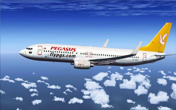 Pegasus'un yolcu sayısında yüzde 45'lik düşüş