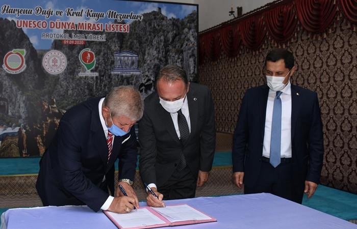 Harşena Dağı ve Pontus mezarları UNESCO yolunda