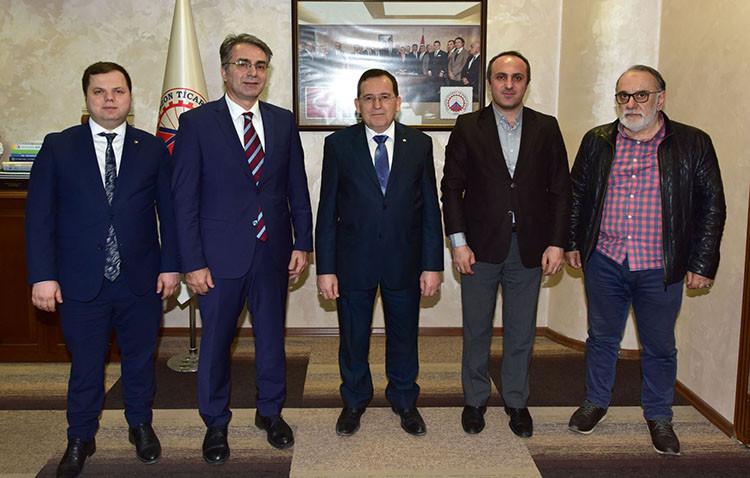 Trabzon'da üniversite – sanayi işbirliği