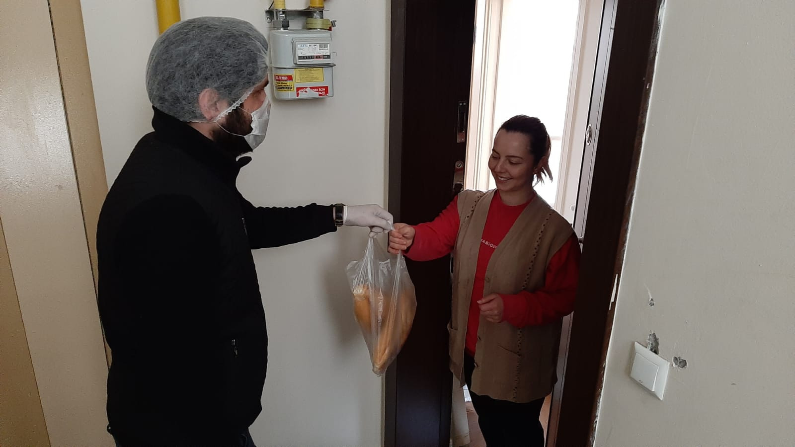 Samsun'da 'Konumunu at ekmeğin gelsin' uygulaması başladı